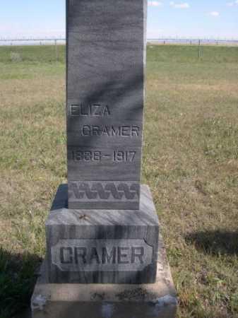 CRAMER, ELIZA - Dawes County, Nebraska | ELIZA CRAMER - Nebraska Gravestone Photos