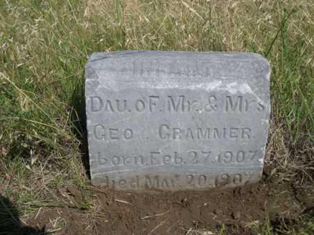 CRAMMER, INFANT DAU OF MR. & MRS. GEO. - Dawes County, Nebraska | INFANT DAU OF MR. & MRS. GEO. CRAMMER - Nebraska Gravestone Photos
