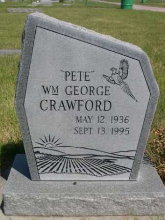"CRAWFORD, ""PETE"" WM. GEORGE - Dawes County, Nebraska 