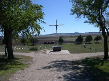 ST. JOHN THE BAPTIST CEMETERY, VIEW OF - Dawes County, Nebraska | VIEW OF ST. JOHN THE BAPTIST CEMETERY - Nebraska Gravestone Photos