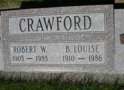 CRAWFORD, B. LOUISE - Dawes County, Nebraska | B. LOUISE CRAWFORD - Nebraska Gravestone Photos