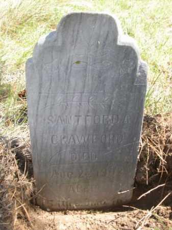 CRAWFORD, SANTFORD A. - Dawes County, Nebraska | SANTFORD A. CRAWFORD - Nebraska Gravestone Photos