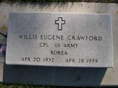 CRAWFORD, WILLIS EUGENE - Dawes County, Nebraska | WILLIS EUGENE CRAWFORD - Nebraska Gravestone Photos