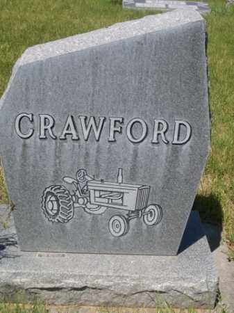 "CRAWFORD, W. GEORGE ""PETE"" - Dawes County, Nebraska | W. GEORGE ""PETE"" CRAWFORD - Nebraska Gravestone Photos"