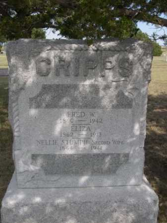 CRIPPS, NELLIE STUMPH - Dawes County, Nebraska | NELLIE STUMPH CRIPPS - Nebraska Gravestone Photos