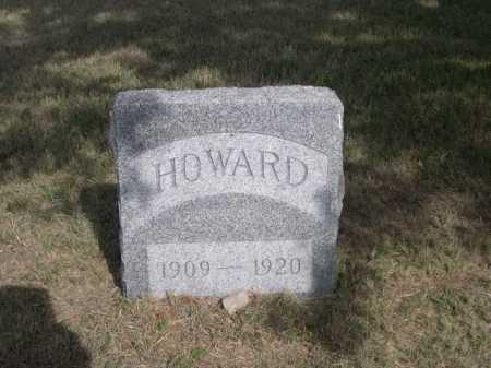 CRIPPS, HOWARD - Dawes County, Nebraska   HOWARD CRIPPS - Nebraska Gravestone Photos