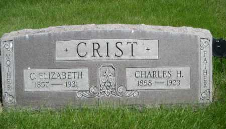 CRIST, C. ELIZABETH - Dawes County, Nebraska | C. ELIZABETH CRIST - Nebraska Gravestone Photos
