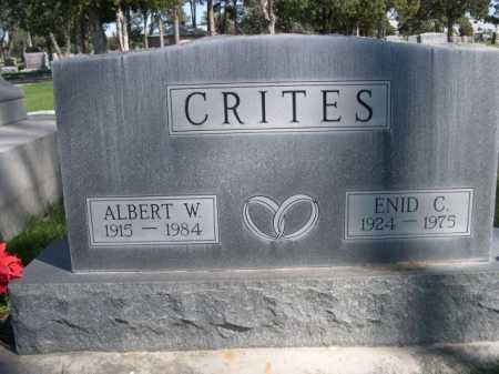 CRITES, ENID C. - Dawes County, Nebraska | ENID C. CRITES - Nebraska Gravestone Photos