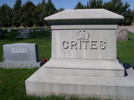 CRITES, FAMILY - Dawes County, Nebraska | FAMILY CRITES - Nebraska Gravestone Photos