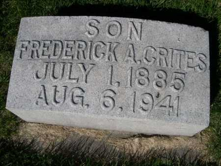 CRITES, FREDERICK A. - Dawes County, Nebraska | FREDERICK A. CRITES - Nebraska Gravestone Photos