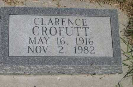 CROFUTT, CLARENCE - Dawes County, Nebraska | CLARENCE CROFUTT - Nebraska Gravestone Photos