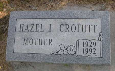 CROFUTT, HAZEL I. - Dawes County, Nebraska   HAZEL I. CROFUTT - Nebraska Gravestone Photos