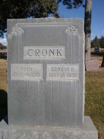 CRONK, RUBY - Dawes County, Nebraska | RUBY CRONK - Nebraska Gravestone Photos