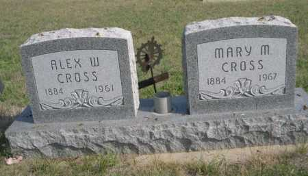 CROSS, MARY M. - Dawes County, Nebraska | MARY M. CROSS - Nebraska Gravestone Photos