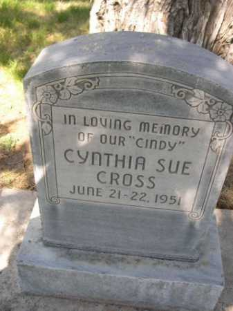 CROSS, CYNTHIA SUE - Dawes County, Nebraska | CYNTHIA SUE CROSS - Nebraska Gravestone Photos
