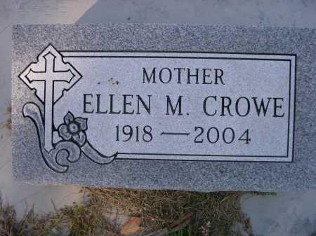 CROWE, ELLEN M - Dawes County, Nebraska | ELLEN M CROWE - Nebraska Gravestone Photos