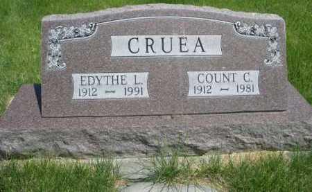 CRUEA, COUNT C. - Dawes County, Nebraska | COUNT C. CRUEA - Nebraska Gravestone Photos
