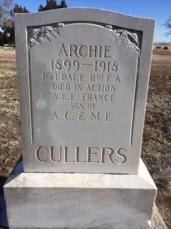 CULLERS, ARCHIE - Dawes County, Nebraska | ARCHIE CULLERS - Nebraska Gravestone Photos