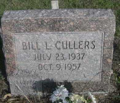 CULLERS, BILL L. - Dawes County, Nebraska | BILL L. CULLERS - Nebraska Gravestone Photos