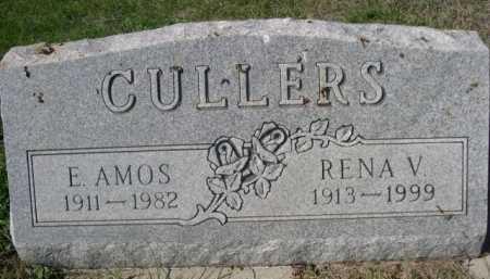 CULLERS, E. AMOS - Dawes County, Nebraska | E. AMOS CULLERS - Nebraska Gravestone Photos