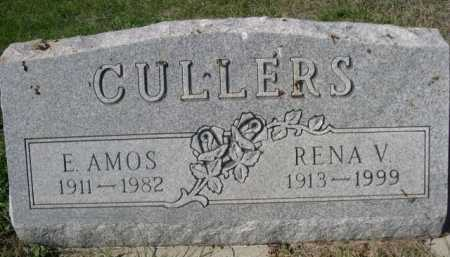 CULLERS, RENA V. - Dawes County, Nebraska | RENA V. CULLERS - Nebraska Gravestone Photos