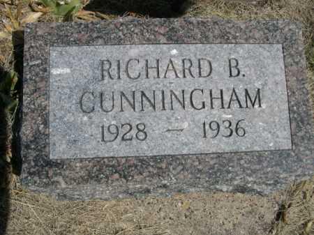 CUNNINGHAM, RICHARD B. - Dawes County, Nebraska   RICHARD B. CUNNINGHAM - Nebraska Gravestone Photos