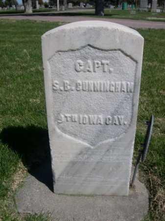 CUNNINGHAM, S. B. - Dawes County, Nebraska   S. B. CUNNINGHAM - Nebraska Gravestone Photos