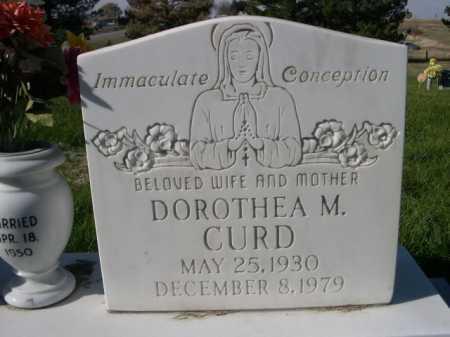 CURD, DOROTHEA M. - Dawes County, Nebraska | DOROTHEA M. CURD - Nebraska Gravestone Photos