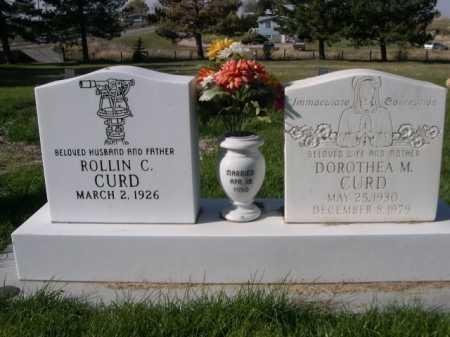 CURD, ROLLIN C. - Dawes County, Nebraska | ROLLIN C. CURD - Nebraska Gravestone Photos