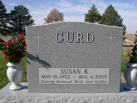 CURD, SUSAN K. - Dawes County, Nebraska | SUSAN K. CURD - Nebraska Gravestone Photos