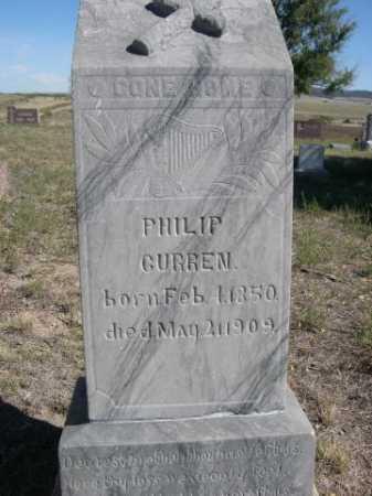 CURREN, PHILIP - Dawes County, Nebraska   PHILIP CURREN - Nebraska Gravestone Photos