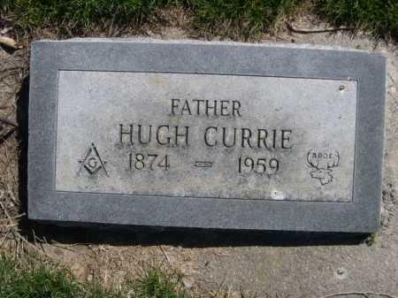 CURRIE, HUGH - Dawes County, Nebraska | HUGH CURRIE - Nebraska Gravestone Photos