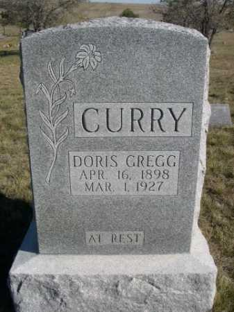 GREGG CURRY, DORIS - Dawes County, Nebraska | DORIS GREGG CURRY - Nebraska Gravestone Photos