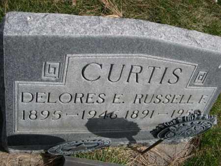 CURTIS, RUSSELL F. - Dawes County, Nebraska | RUSSELL F. CURTIS - Nebraska Gravestone Photos