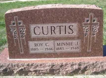 CURTIS, MINNIE J. - Dawes County, Nebraska   MINNIE J. CURTIS - Nebraska Gravestone Photos