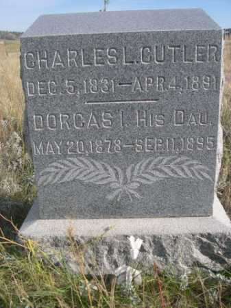 CUTLER, DORCAS I. - Dawes County, Nebraska   DORCAS I. CUTLER - Nebraska Gravestone Photos