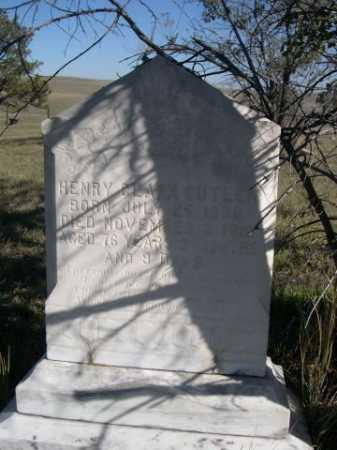 CUTLER, HENRY CLARK - Dawes County, Nebraska   HENRY CLARK CUTLER - Nebraska Gravestone Photos