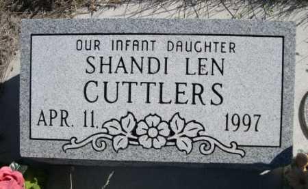 CUTTLERS, SHANDI LEN - Dawes County, Nebraska   SHANDI LEN CUTTLERS - Nebraska Gravestone Photos