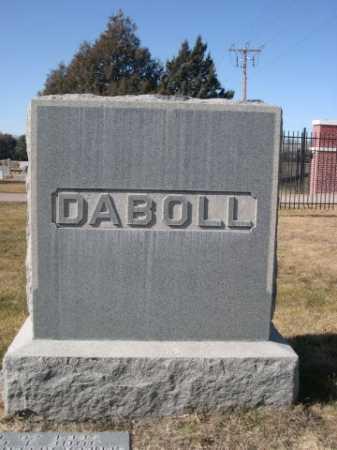 DABOLL, FAMILY - Dawes County, Nebraska | FAMILY DABOLL - Nebraska Gravestone Photos