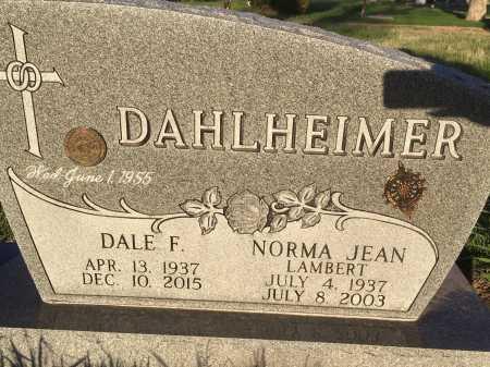 DAHLHEIMER, NORMA JEAN - Dawes County, Nebraska | NORMA JEAN DAHLHEIMER - Nebraska Gravestone Photos
