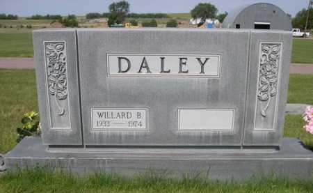 DALEY, WILLARD B. - Dawes County, Nebraska | WILLARD B. DALEY - Nebraska Gravestone Photos