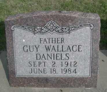 DANIELS, GUY WALLACE - Dawes County, Nebraska | GUY WALLACE DANIELS - Nebraska Gravestone Photos