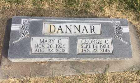 DANNAR, MARY C. - Dawes County, Nebraska | MARY C. DANNAR - Nebraska Gravestone Photos