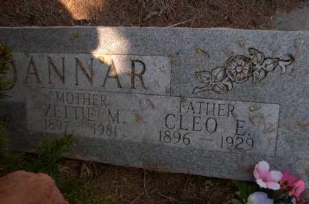 DANNAR, CLEO E. - Dawes County, Nebraska | CLEO E. DANNAR - Nebraska Gravestone Photos