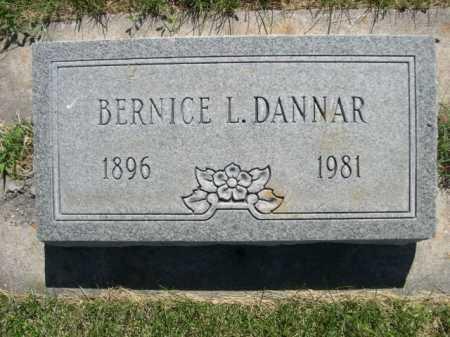 DANNAR, BERNICE L. - Dawes County, Nebraska | BERNICE L. DANNAR - Nebraska Gravestone Photos