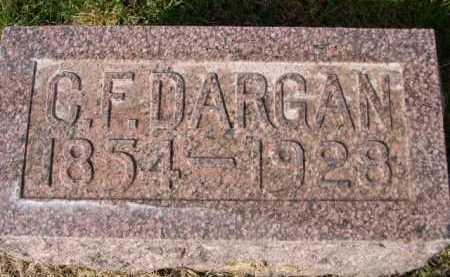 DARGAN, C. F. - Dawes County, Nebraska | C. F. DARGAN - Nebraska Gravestone Photos