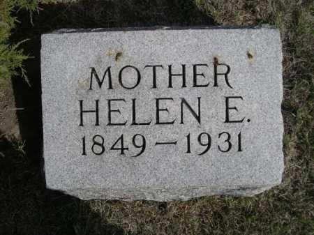 DARROW, HELEN E. - Dawes County, Nebraska | HELEN E. DARROW - Nebraska Gravestone Photos