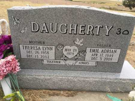 DAUGHERTY, EMIL ADRIAN - Dawes County, Nebraska | EMIL ADRIAN DAUGHERTY - Nebraska Gravestone Photos