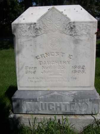 DAUGHTRY, ERNEST E. - Dawes County, Nebraska | ERNEST E. DAUGHTRY - Nebraska Gravestone Photos