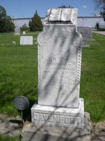 DAVENPORT, JOHN ROGERS - Dawes County, Nebraska | JOHN ROGERS DAVENPORT - Nebraska Gravestone Photos